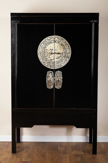 a vintage asian inspired cabinet for a stunning cultural and rh pinterest com Cabinet Decorative Hardware French Country Style Cabinet Hardware