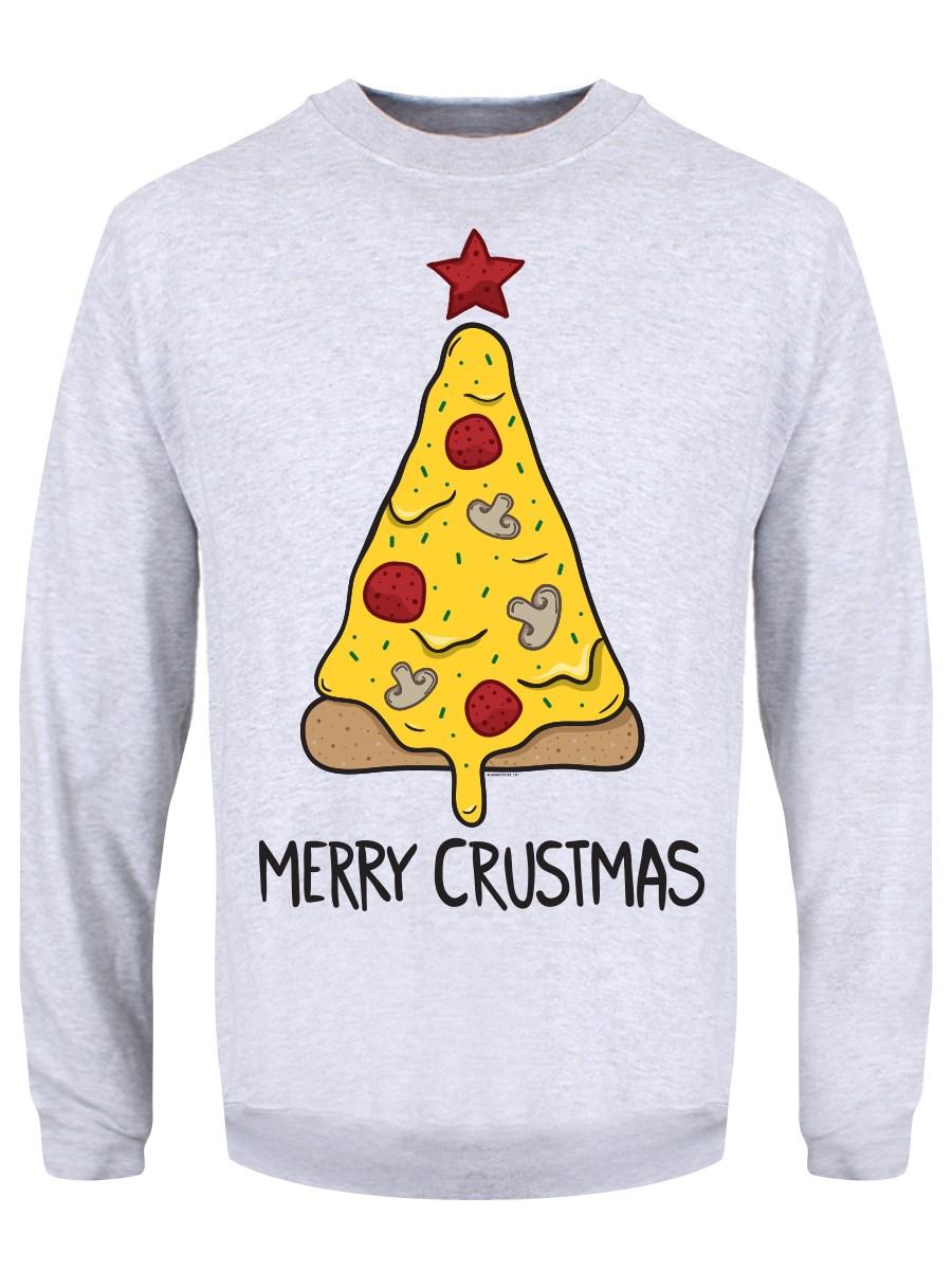 Merry Crustmas Men's Grey Christmas Jumper in 2020