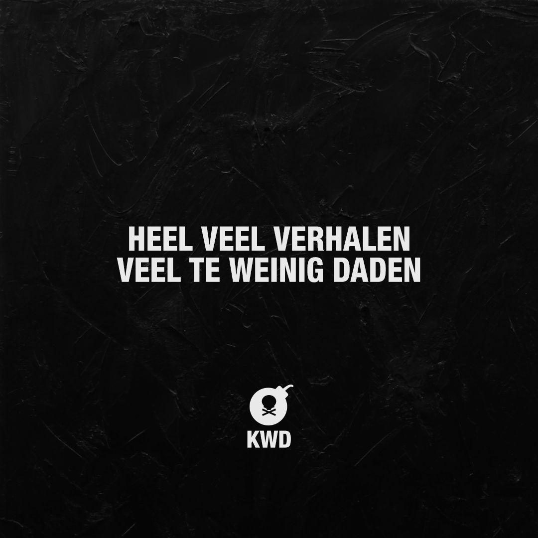 Heel Veel Verhalen Veel Te Weinig Daden Nederlandse