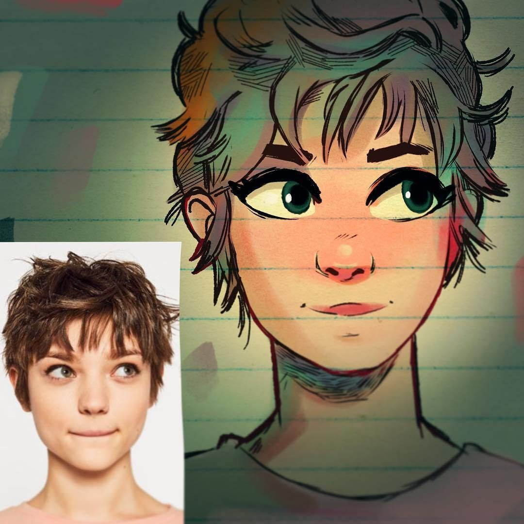 Artist transforms people into cartoons and results are