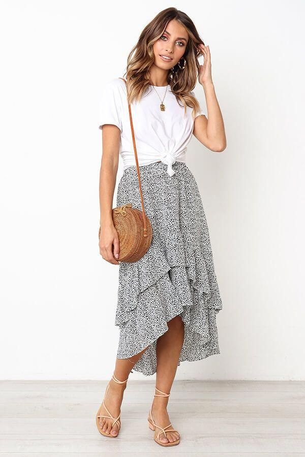 Latest Feminine trendy inspo. #casualsummeroutfits #chicsummeroutfits