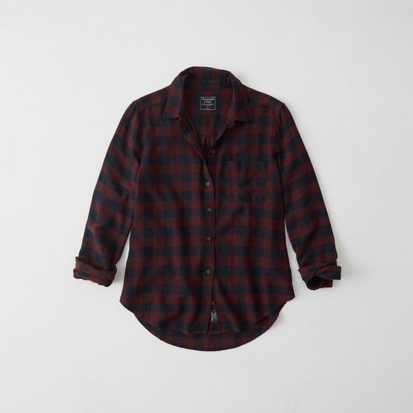 Abercrombie & Fitch Plaid Flannel Shirt (1,095 MXN) ❤ liked on Polyvore featuring tops, burgundy and navy plaid, navy plaid shirt, navy top, flannel top, navy blue shirt and navy blue flannel shirt
