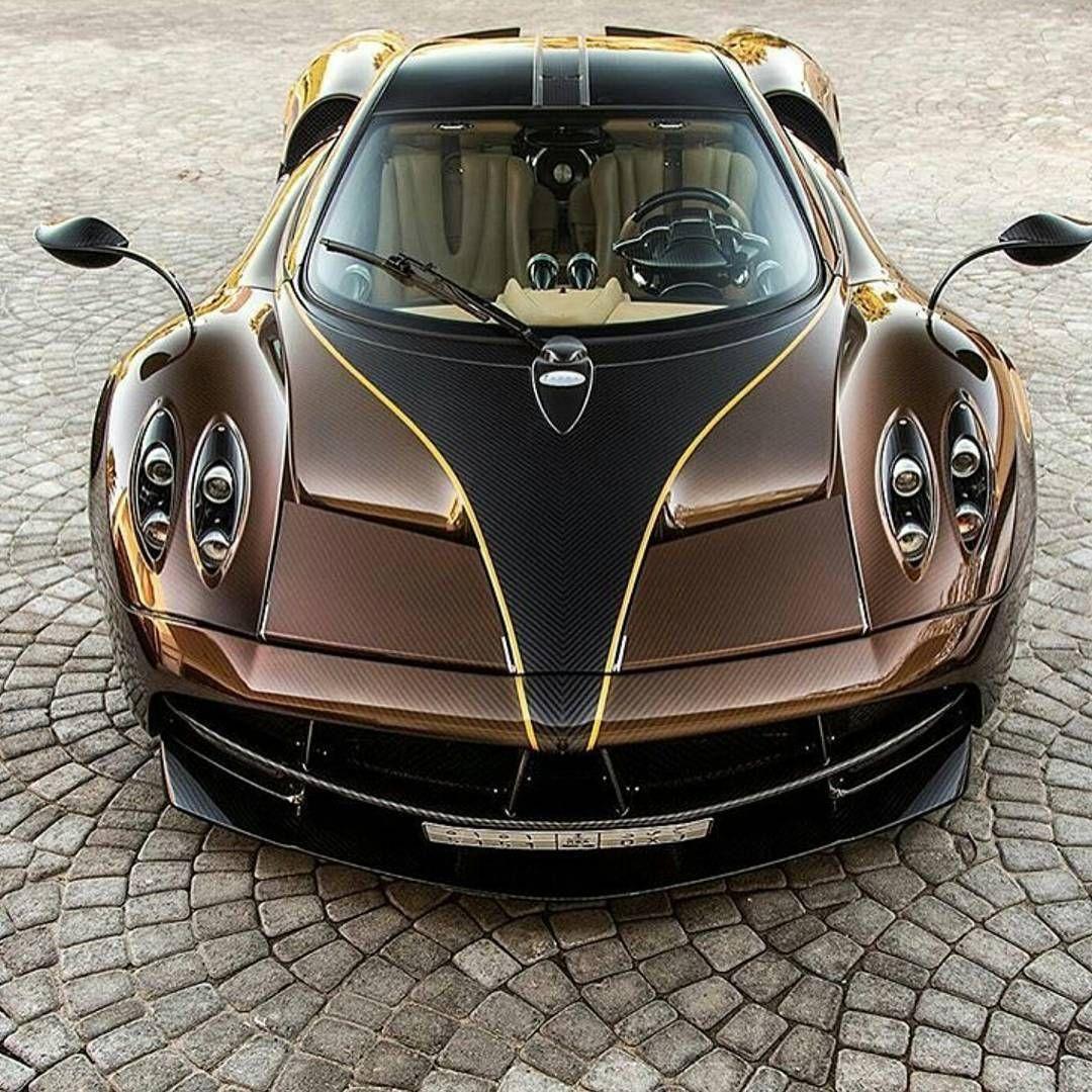 Brown Carbon Fiber Pagani Huayra Pegani Cars Pagani Huayra