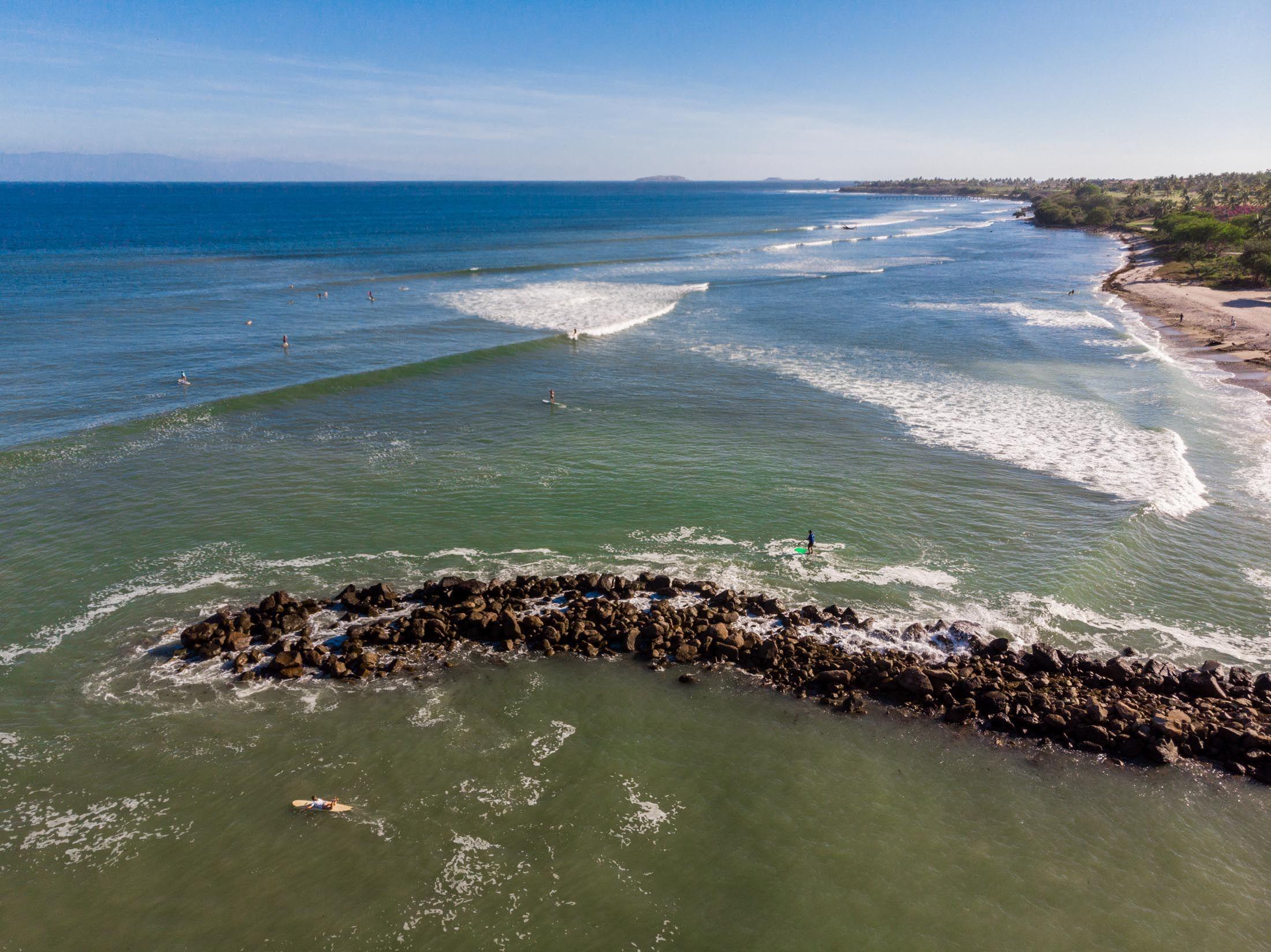 Surf Spots In Punta Mita Puerto Vallarta Vallarta Surfing