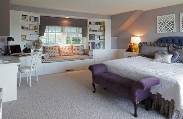 Lila schlafzimmer ~ Lila sofa stil sitzbank schlafzimmer sofas