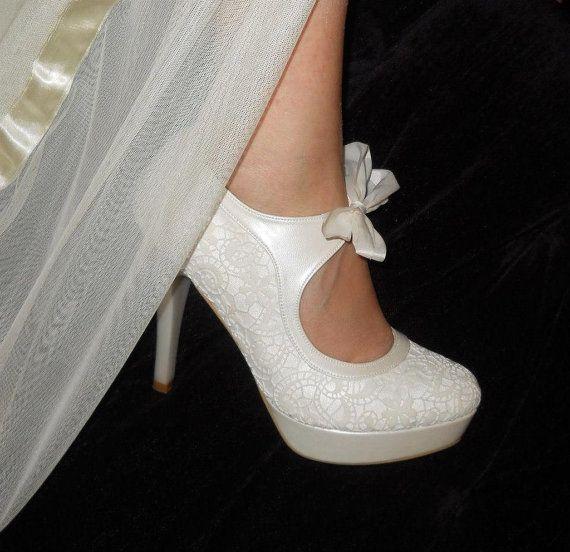 Shopping: De jolies chaussures en dentelle