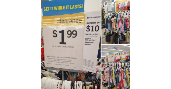 Kmart: Free Kids' and Baby Clothes Summer Apparel!