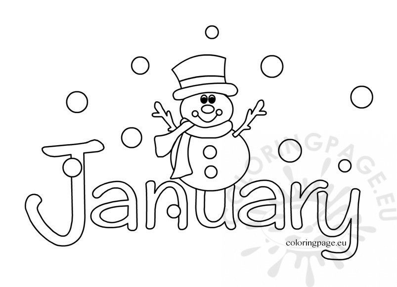 Pin By Pammy On Months Preschool Coloring Pages Free Coloring Pages Coloring Pages Winter