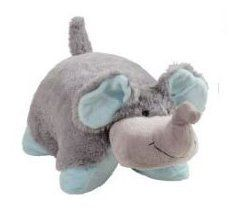 My Pillow Pets Nutty Elephant Large Grey With Blue By My Pillow Pets Http Www Amazon Com Dp B Elephant Stuffed Animal Elephant Pillow Pet Animal Pillows