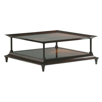 Baker Furniture Madras Square Coffee Table 3752 Jacques