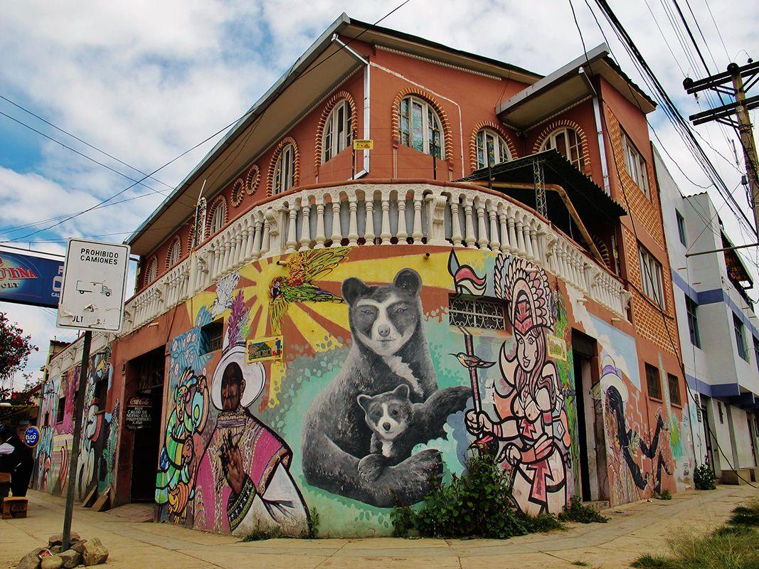 Resultado de imagen para graffitis del puriskiri