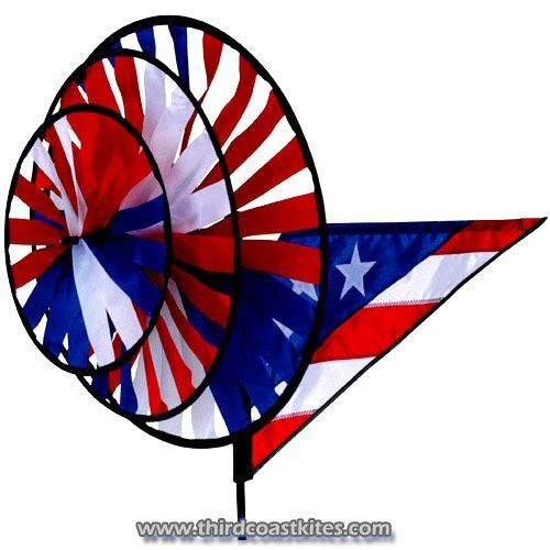 Triple Spinner, Patriotic By Premier Kites U0026 Designs. $33.00. Patrioticu2026