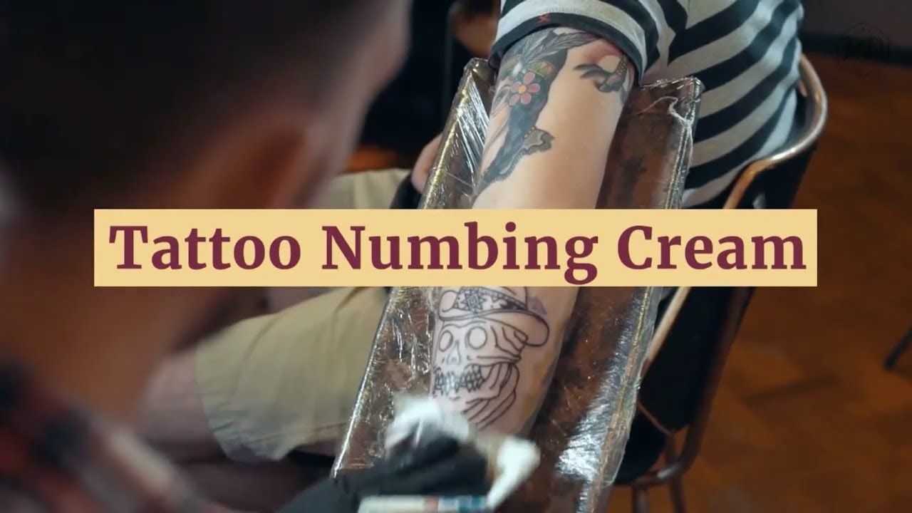 Tattoos simply hurt! That\'s why tattoo numbing creams are so widely ...