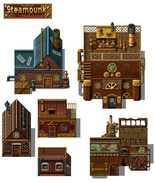 steampunk pixel art - Buscar con Google