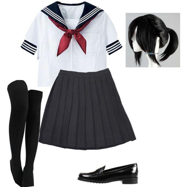 Doki Doki littérature Club Monika Cosplay Costume Party uniformes vêtements