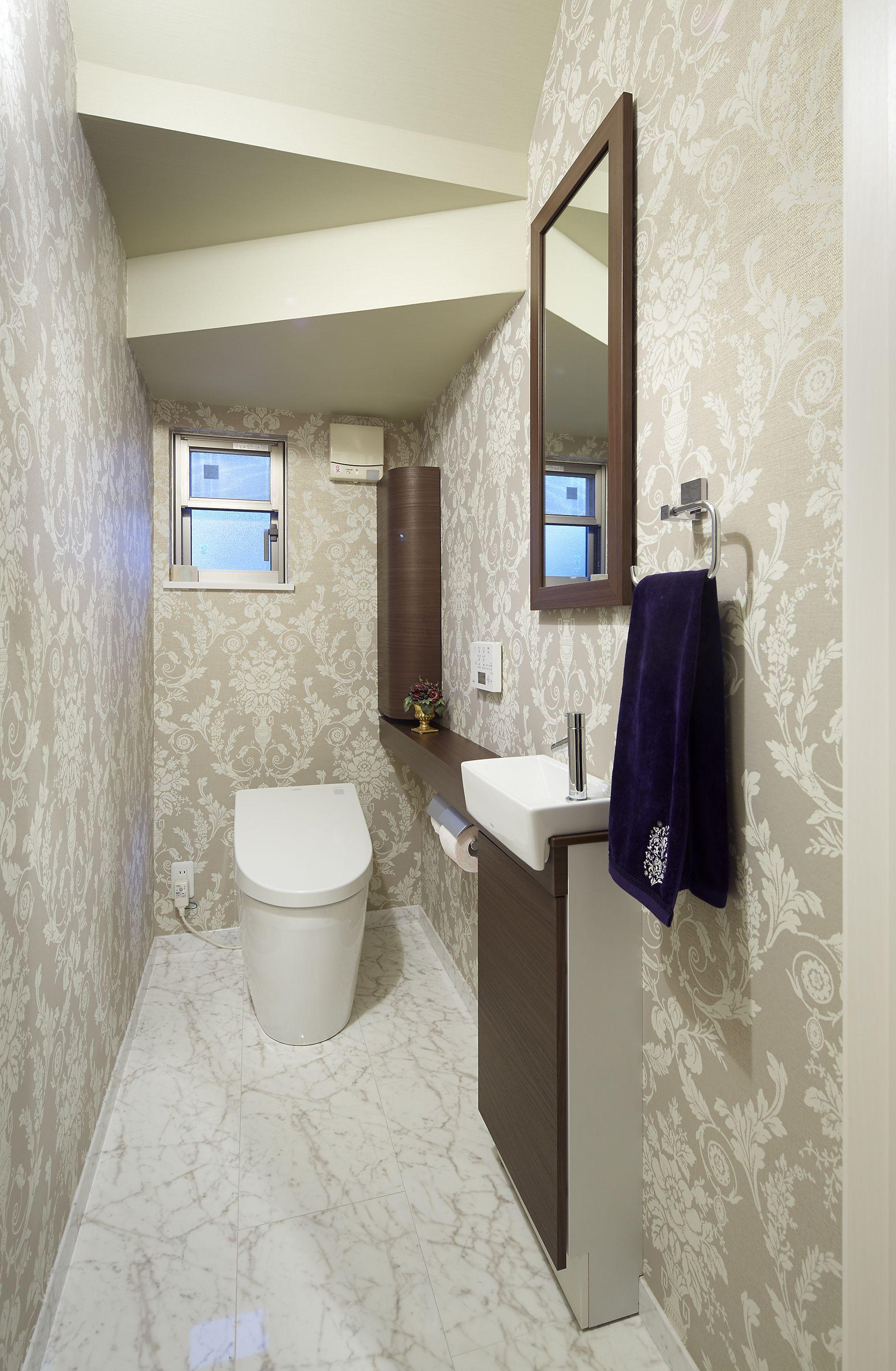 ミサワホームイングデザインリフォーム 階段下のトイレをリフォーム