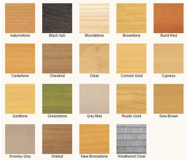 Merbau Coloured Paint For Timber