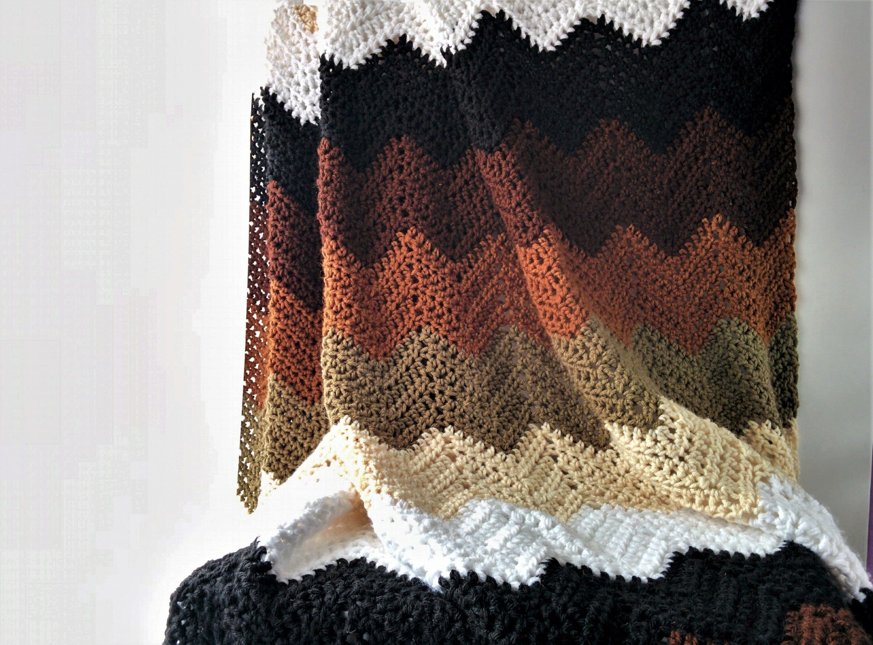 How to Crochet Chevron Stitch [Video + Written]