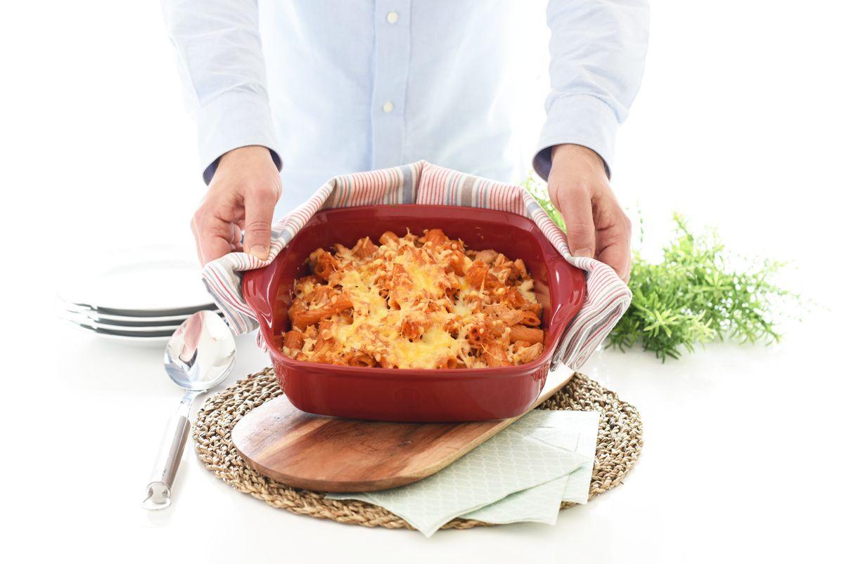 Macarrones Exprés Con Atún Con Thermomix Receta Comida Macarrones Con Verduras Platos De Pasta