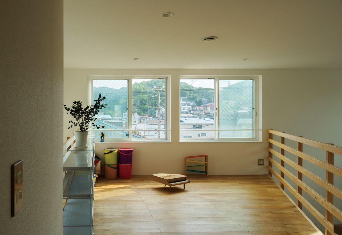 まだある2階ホールの新しい使い方 フリースペース 2階 家