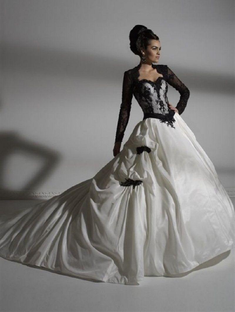 Cheap black and white wedding dresses uk sites