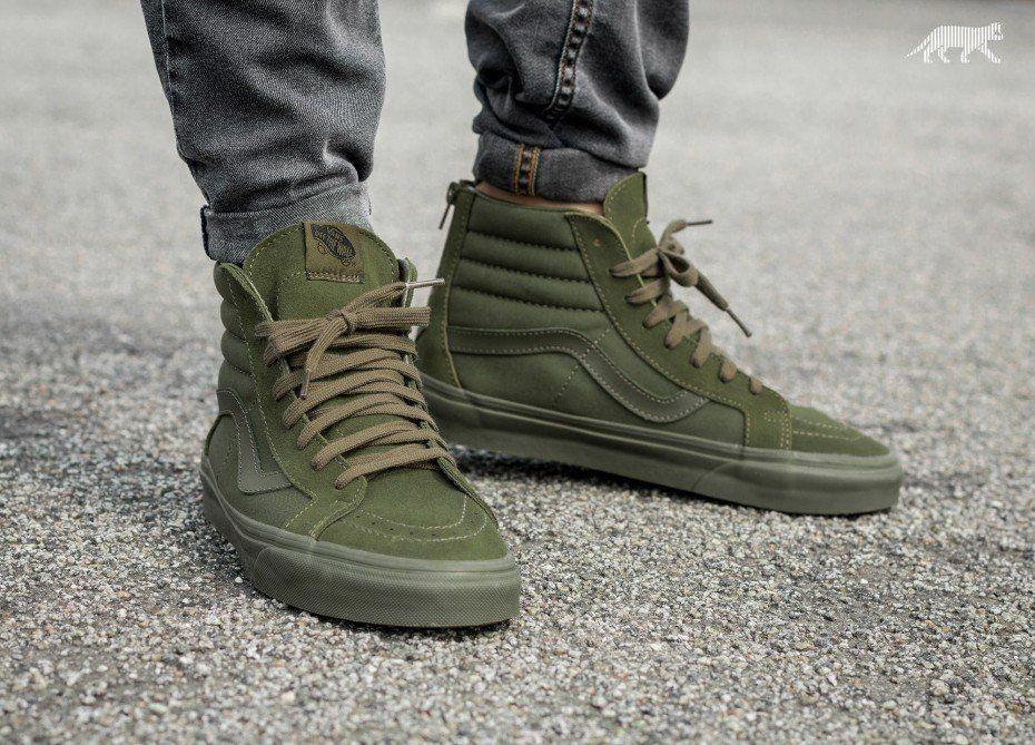 vans military boots
