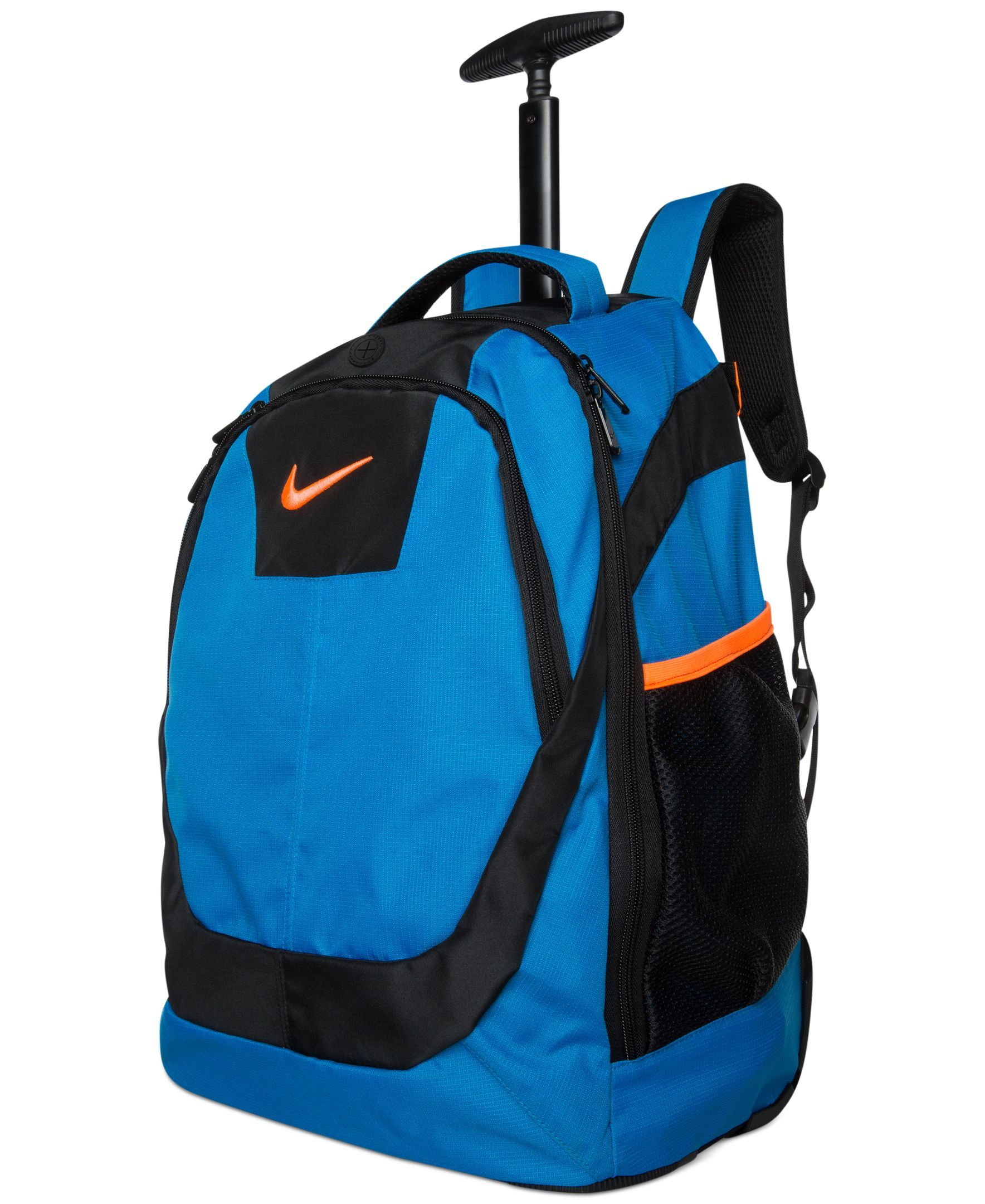 nike boys or girls rolling backpack products pinterest