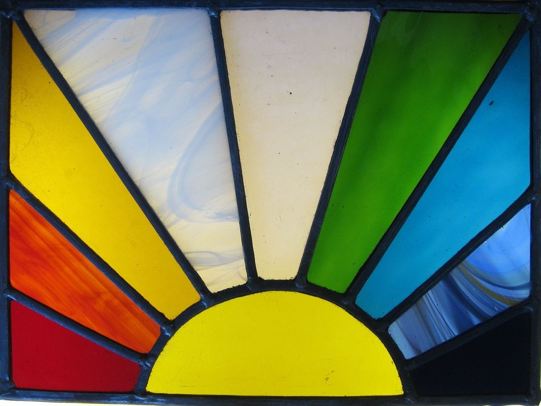 Images For > Simple Stained Glass Patterns For Beginners