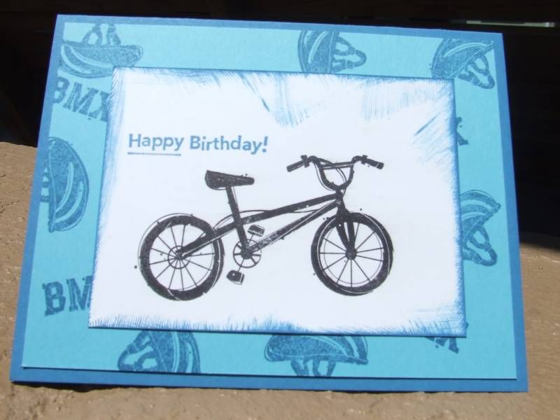Just Riding Card by sarashep - Cards and Paper Crafts at Splitcoaststampers