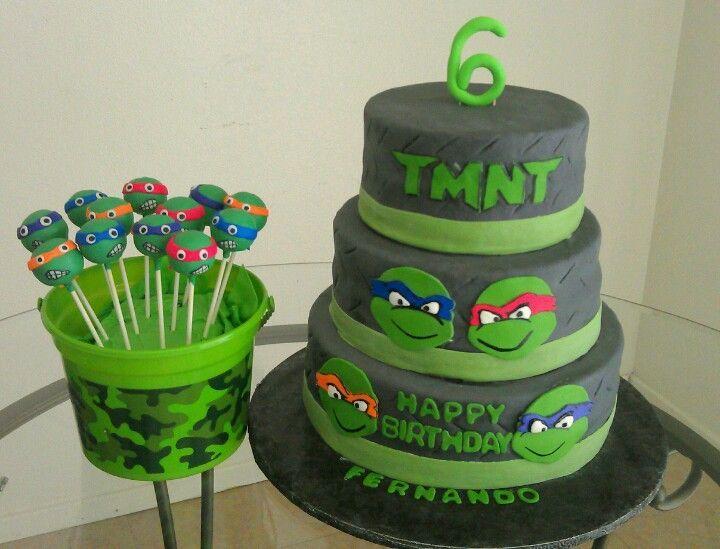 ninja turtles cupcake toppers Google Search Partys Ninja Turtles