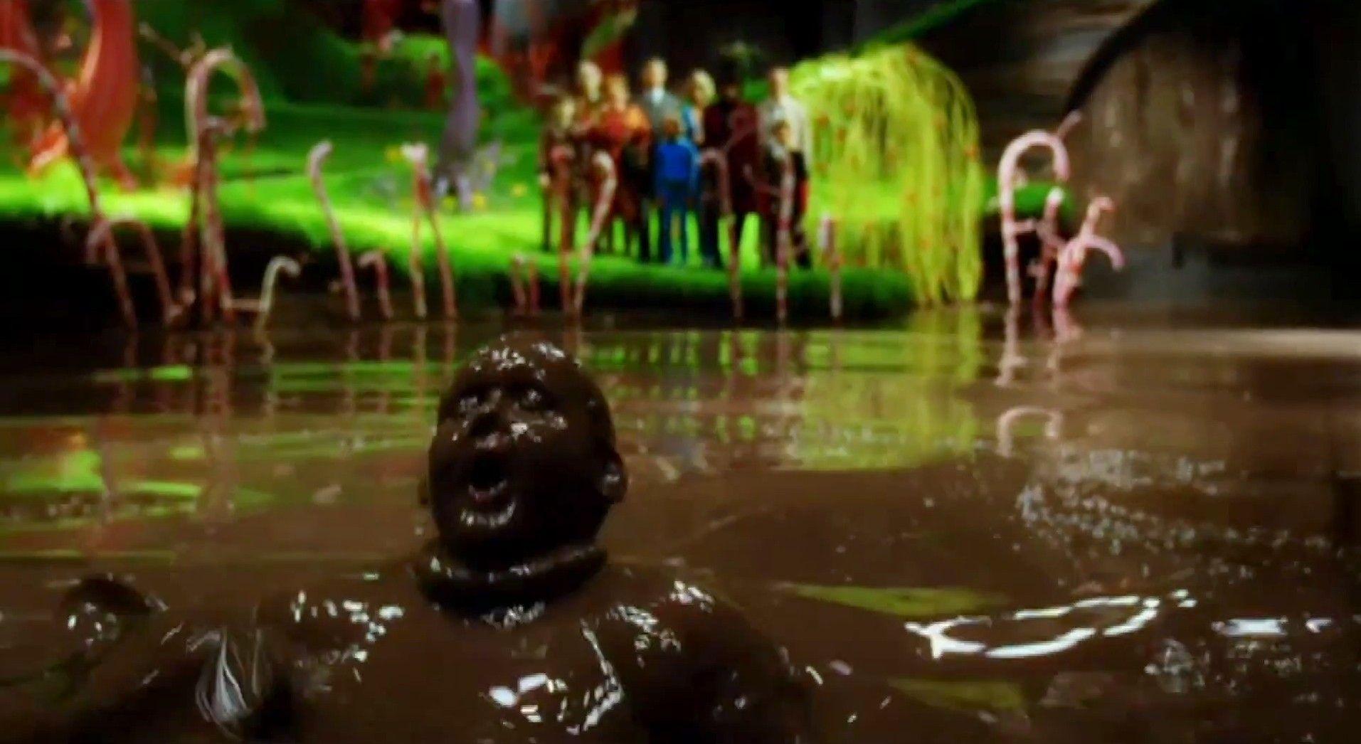 charlie and the chocolate factory - Hier zie je die dikke jongetje ...