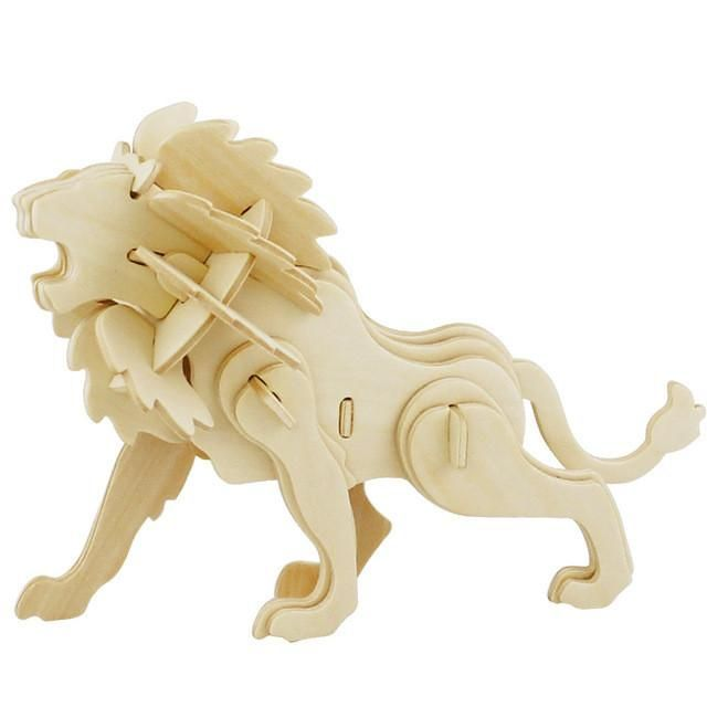 3d Three Dimensional Wooden Animal Jigsaw Puzzle Toys For Children Diy Handmade Wooden Puzzle 3d Puzzles Animals Insects And Car Products Pinterest Wood