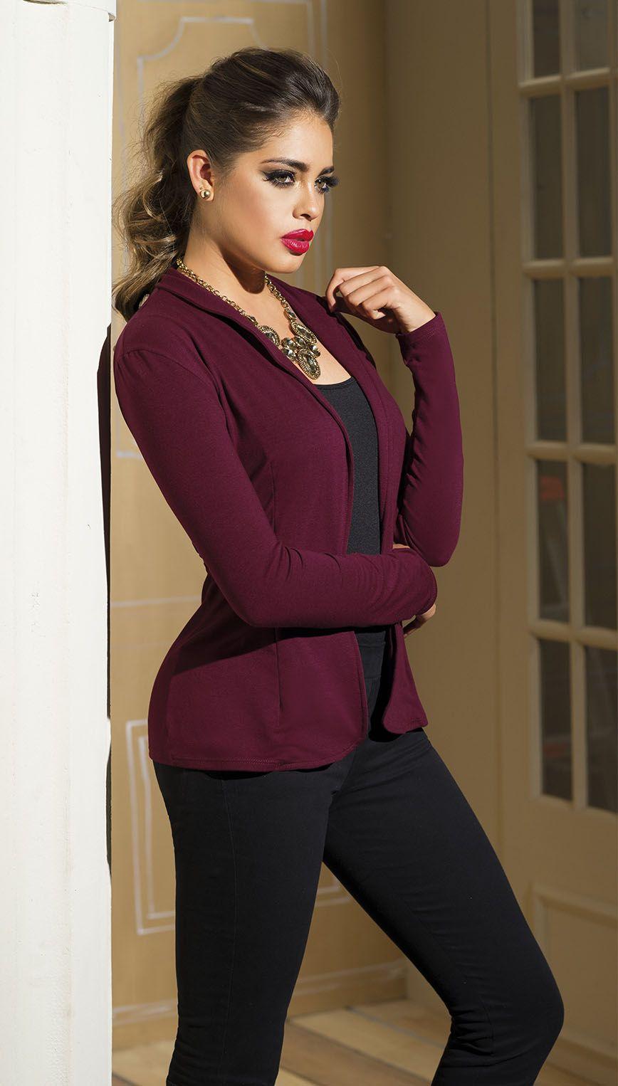 #Blazer #Carmel #ModaSexy