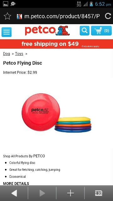 Petco Flying Disc Flying Disc Petco Internet Prices