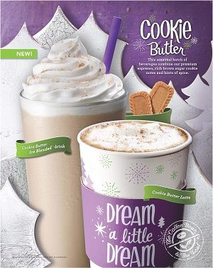 15hol Ps Cookiebutterduosmall Butter Cookies Holiday Coffee Drinks Leaf Cookies