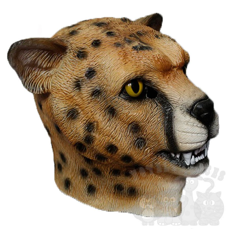 SCAVENGER Head Party Mask Halloween Hen Stag Props Theater Play Latex HEYNA