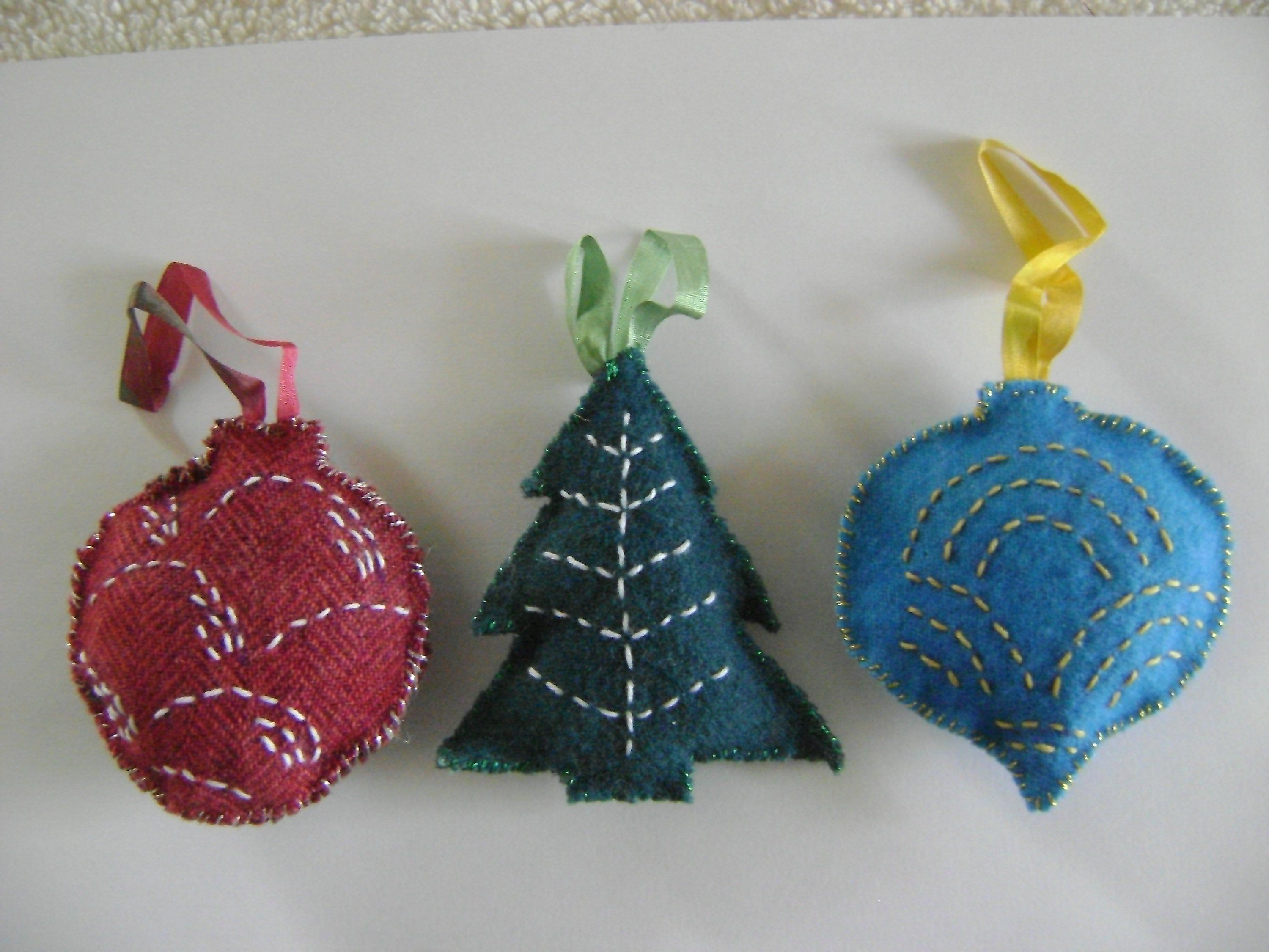 36+ Felted wool christmas tree ornaments inspirations