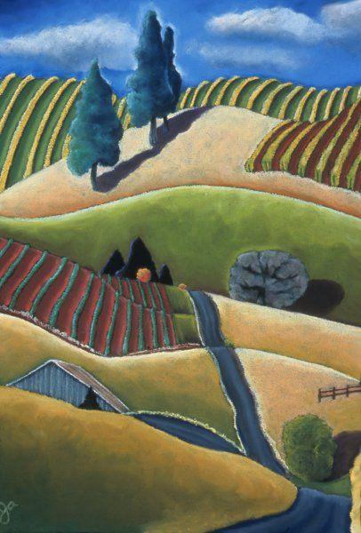 Sky Vineyards ~ Jane Aukshunas