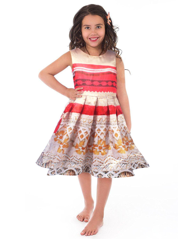 757fcecd1 Cheap girls dress, Buy Quality dress girl directly from China girl girl  Suppliers: girl dress moana vaiana kids adventure outfit polynesian princess  beach ...