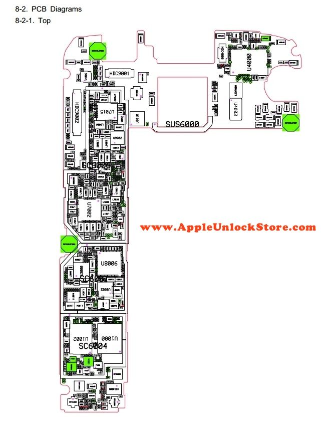 Samsung Galaxy S6 SM-G920 Circuit Diagram Service Manual