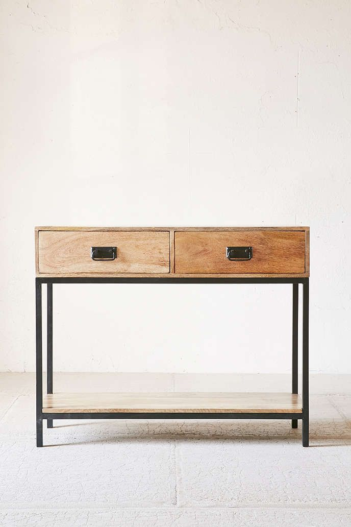 Shop Casper Industrial Wooden Console At Urban Outfitters Today. We Carry  All The Latest Styles, Colors And Brands For You To Choose From Right Here.
