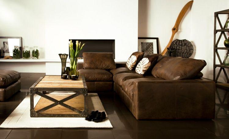 Braune Wohnzimmerwand ~ Elegant braune möbel wohnzimmer ideen phe esszimmer