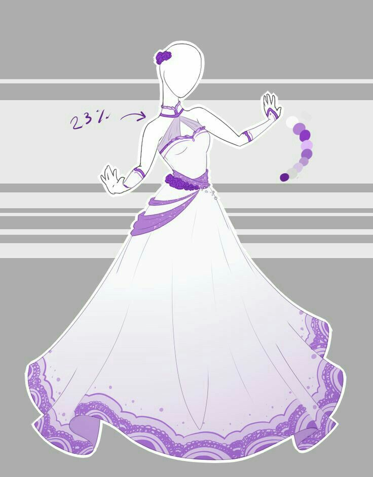 The Perfect Ball Gown Dress Anime Dress Dress Drawing Dress