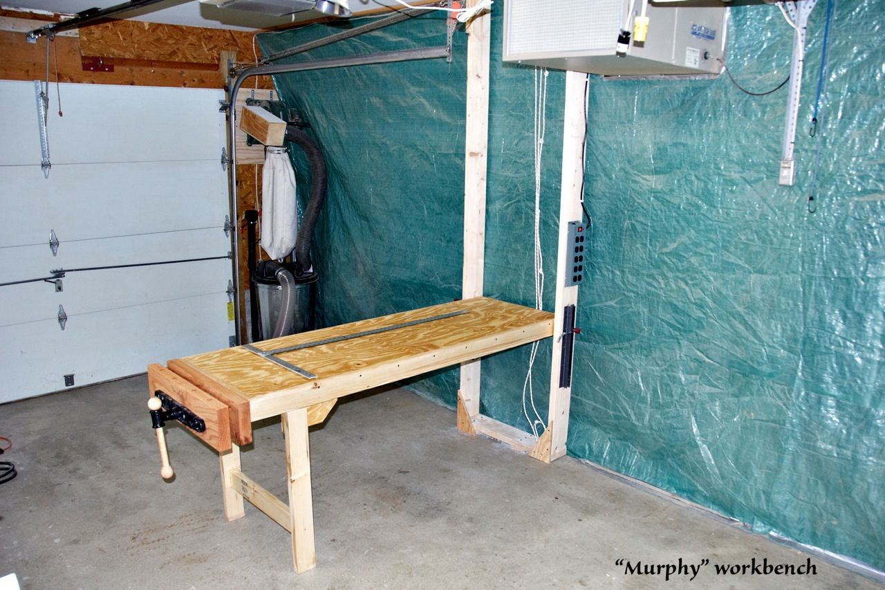 The Murphy Workbench Workbench Diy Woodworking Woodworking