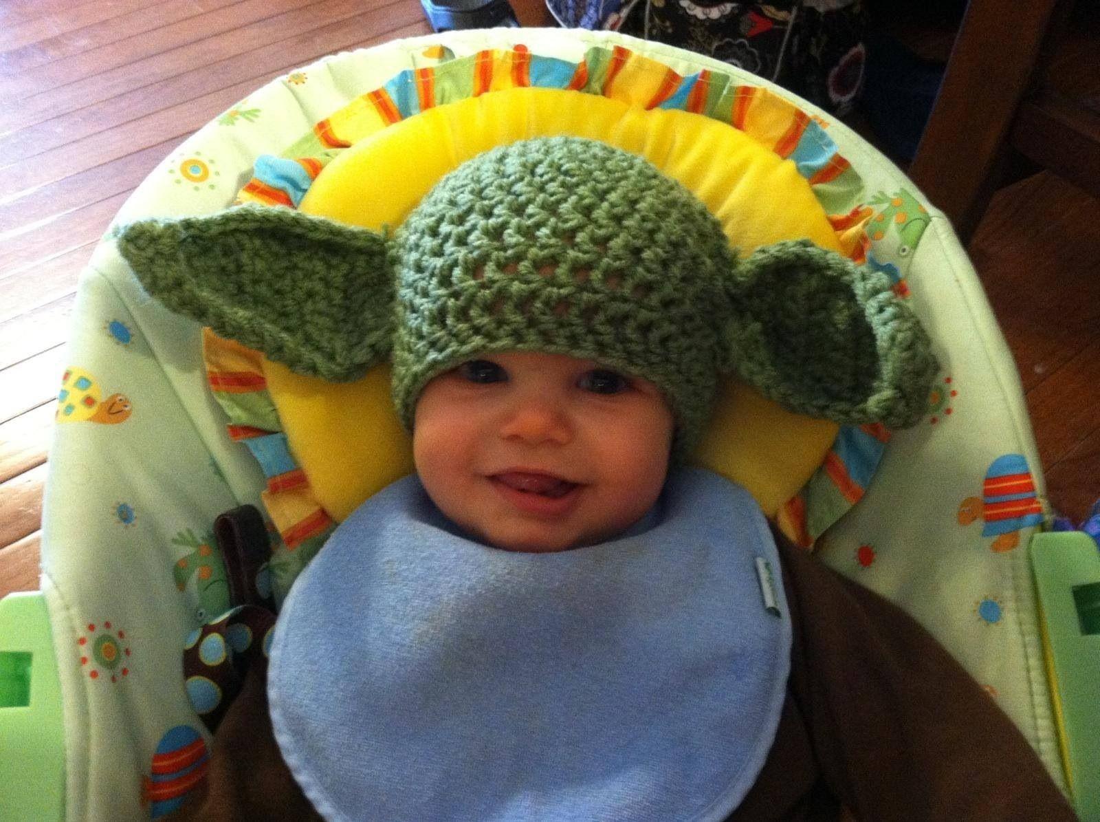 Yoda Hat   Crochet hats, Crochet, Hats