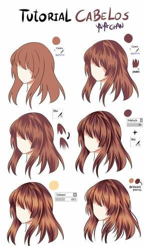 Pin By Sora Nai On Dessins Drawing Hair Tutorial Anime Hair Color How To Draw Hair