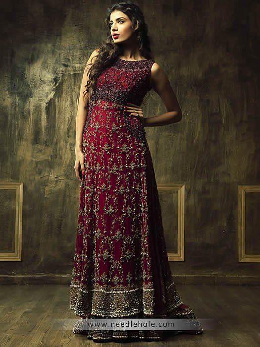 Indian Bridal Lehenga For Bride Needlehole A