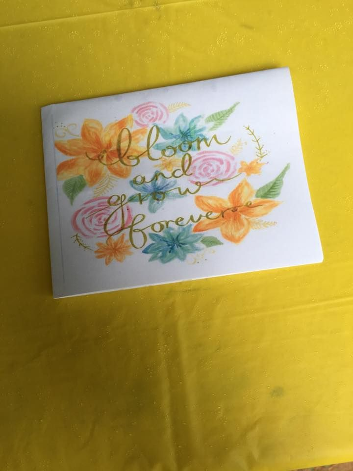 So long, Farwell gifts were notes that had the lyrics from the ...