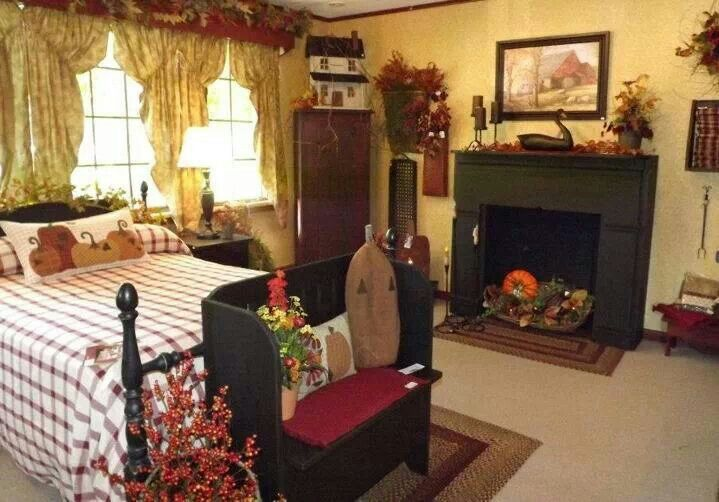 cheap primitive country bedroom decorating ideas | BR decor ideas | Primitive country bedrooms, Primitive ...