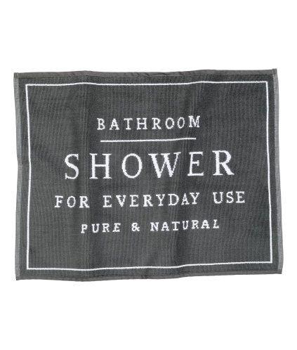 Jacquardgeweven badmat | Product Detail | H&M